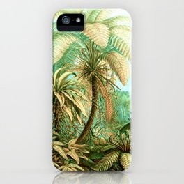 Vintage Tropical #society6 #buyart #painting iPhone Case