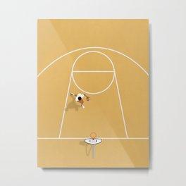 I just wanna play basketball Metal Print