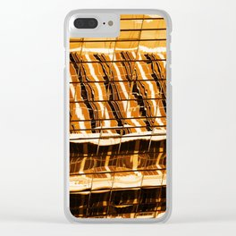 Abstract architecture pattern texture background Clear iPhone Case