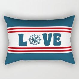 Love compass Rectangular Pillow