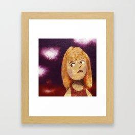 The Evil Queen Framed Art Print
