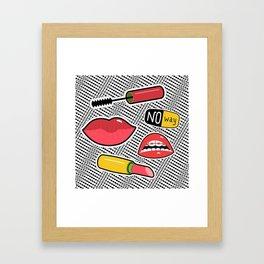 Teenager Girl Starter Pack Framed Art Print