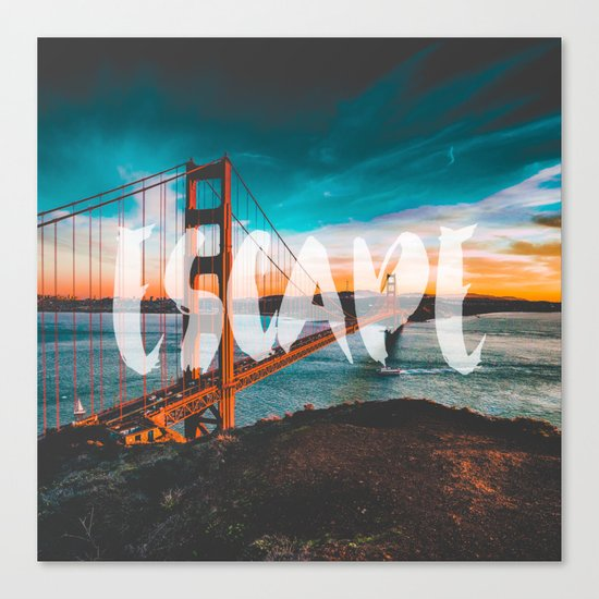 ESCAPE San Francisco Canvas Print