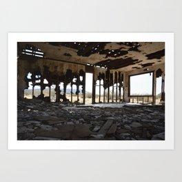 Ramshackle Desert Dwelling Art Print