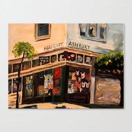 Love N Haight in Haight Ashbury Canvas Print