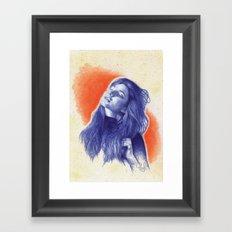 Before the summer ends Framed Art Print