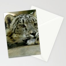 Snow Leopard Stationery Cards