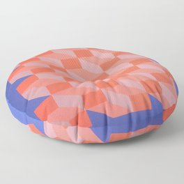 Geometric Design - By Dominic Joyce Floor Pillow