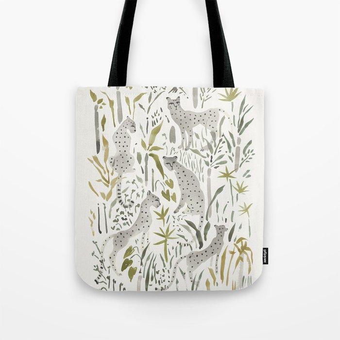 Grey Cheetahs Tote Bag