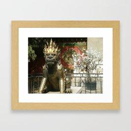 Dragon Blossom Framed Art Print
