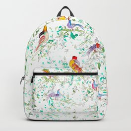 Jungle Bird Party Backpack