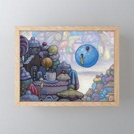 Wishing Well Visitor Framed Mini Art Print