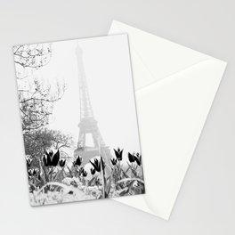 Paris Black & White Stationery Cards