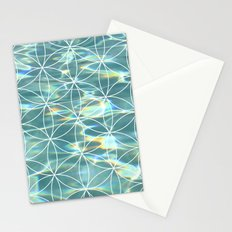 Abstract Pool Stationery Cards