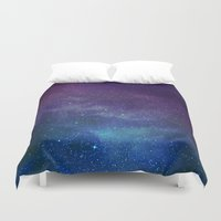 universe Duvet Covers featuring Universe by Space99