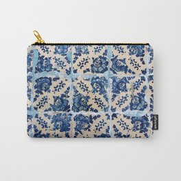 Portuguese Azulejo tiles Carry-All Pouch