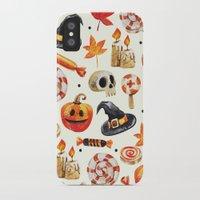 halloween iPhone & iPod Cases featuring halloween by Ceren Aksu Dikenci