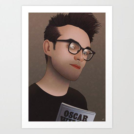 Morrissey (The Smiths) Art Print