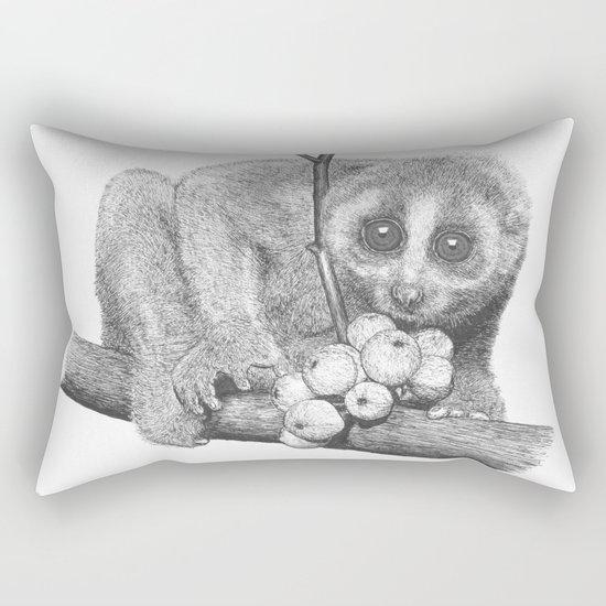 Slow Loris (Kera Duku) Rectangular Pillow