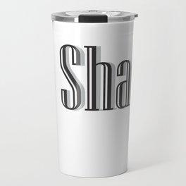 No shade Travel Mug