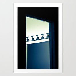 CAN TRUE BEAUTY BE FOUND IN THE LIGHT? Art Print