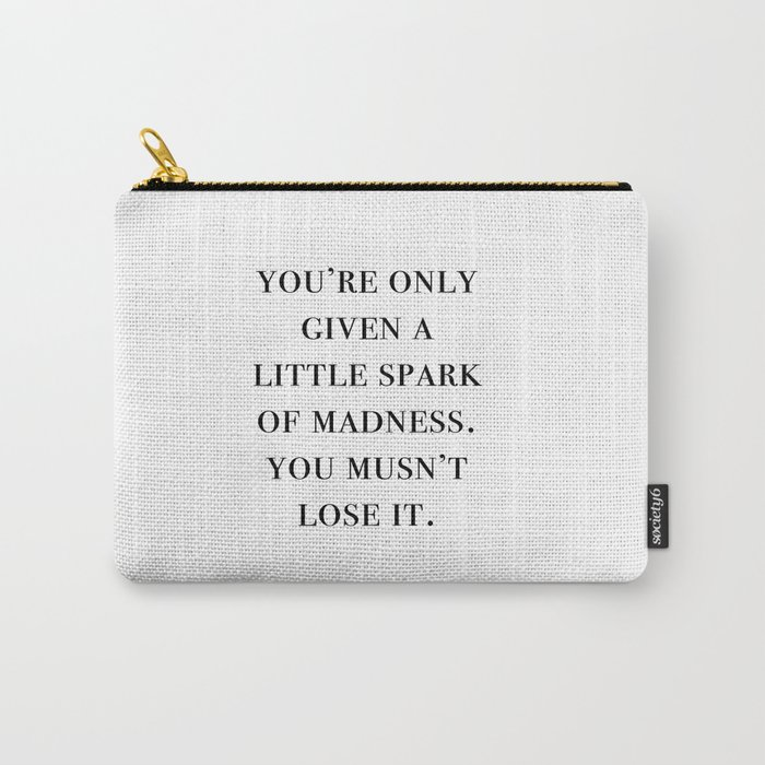 spark of madness Carry-All Pouch