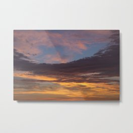 Sky on Fire. Metal Print