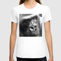 gorilla T-shirts featuring Gorilla by SwanniePhotoArt