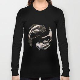 Yin Yang Koi Long Sleeve T-shirt