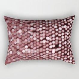 BOKEH PINK Rectangular Pillow
