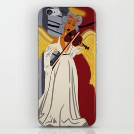 Angel on Carma's Shoulder iPhone Skin