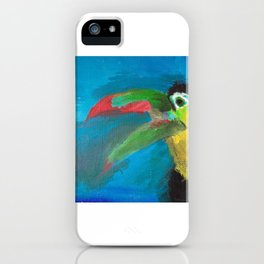 Toucan from Costa Rica iPhone Case