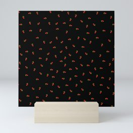 Dark Delicate Cherry Mini Art Print