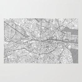 Dublin Map Line Rug