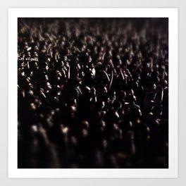 Razzmatazz Crowd (M83 concert) Art Print