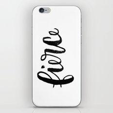 fierce. iPhone & iPod Skin
