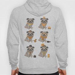 Pugs Abound Hoody