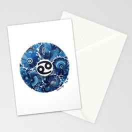 Cancer in Petrykivka Style (with artist's signature/date) Stationery Cards