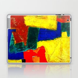 Equilibrium - Balance -Öl auf Leinwand Laptop & iPad Skin
