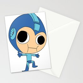 Silly Megaman Stationery Cards