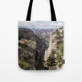 A Vertical View - Grand Canyon Tote Bag