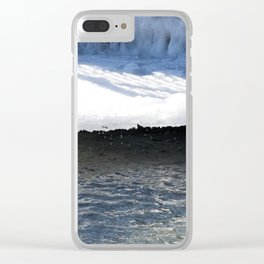 Meltdown Clear iPhone Case