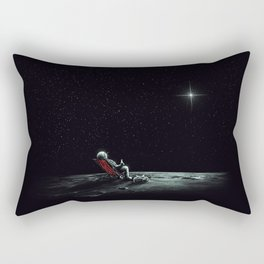 Space Chill Rectangular Pillow