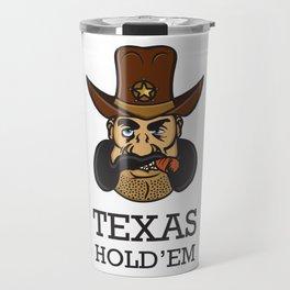 Texas hold 'em Travel Mug