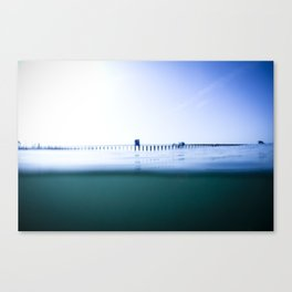 The Oceanside Pier Canvas Print