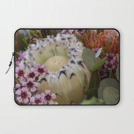 Beautiful Feather Protea Laptop Sleeve