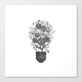 Bright Ideas Canvas Print