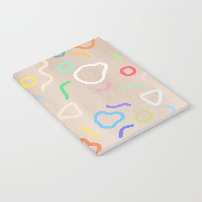 Confetti Party Notebook