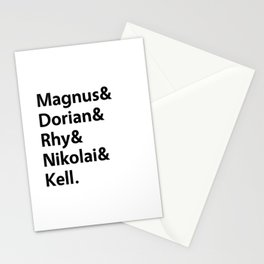 Book Princes White Stationery Cards