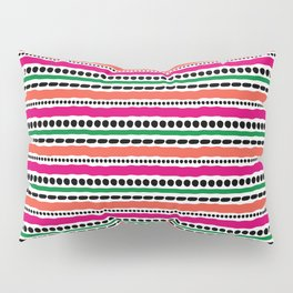 Lines and Dots 1 Pillow Sham